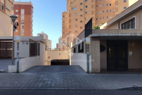 Garage - Rental - COSTA BLANCA NORTE - ALICANTE CAPITAL - SAN JUAN PLAYA-CABO HUERTAS